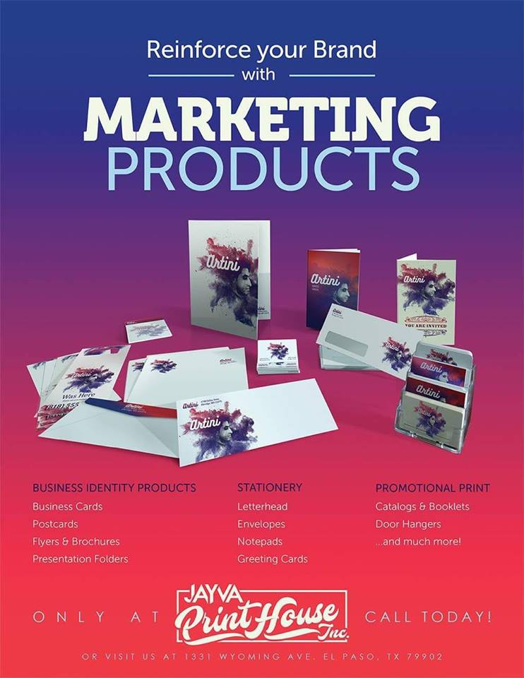 Marketing Products El Paso